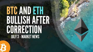 Bitcoin and Ethereum Extremely Bullish after Correction- Kraken Massive Inflow of Fiat coming Crypto