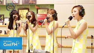 """마마무 MAMAMOO """" Mr. 애매모호 """" 라이브 LIVE / 140717[조정치&장동민2시]"""
