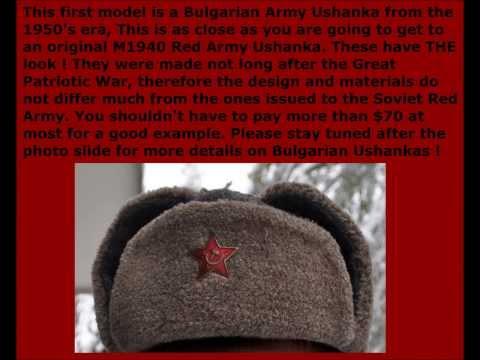 Choosing a WW2 Style Ushanka