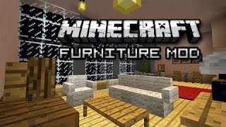 Обзор модов Minecraft #144 MrCrayfish's Furniture Mod 1.8.9 - Лучше дома не сыскать =)