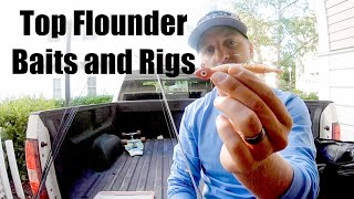 The Best Flounder Fishing Rigs Tutorial - Live Bait + Berkley Gulp!