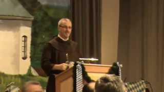 preview picture of video 'Fastenpredigt von Bruder Johannes beim Starkbierfest 2015 in Viechtach'