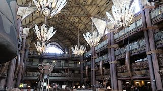 Disneys Animal Kingdom Lodge Resort Tour | Hotel Grounds, DVC, Pools, Food Locations & Animals!