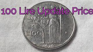 100 Lire Italy Coin 1979 Dc Coin