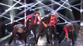 5th Performance - Pentatonix - Love Lockdown (Kanye West) - Sing Off S3/6