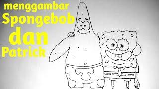 How To Draw Spongebob Characters Patrick ฟรวดโอออนไลน ดทว