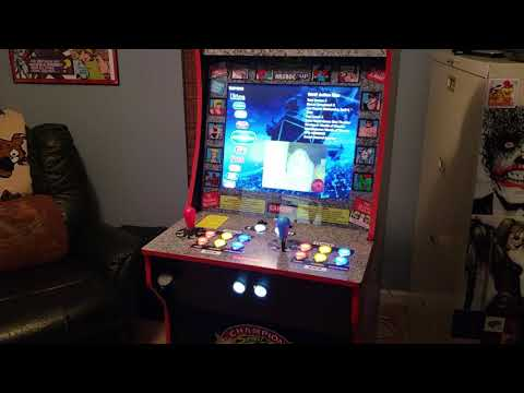 Arcade1up/X-Arcade Ultimate Street Fighter II Cabinet Mod