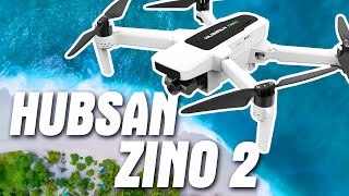 Квадрокоптер Hubsan Zino 2. Чем он лучше дрона Hubsan H117S (Zino) и Zino Pro?