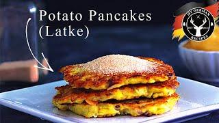 German Potato Pancakes ✪ MyGerman.Recipes