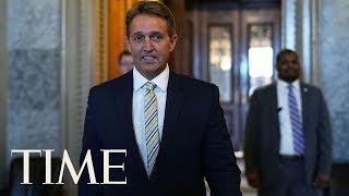 Senator Jeff Flake Likens President Trump