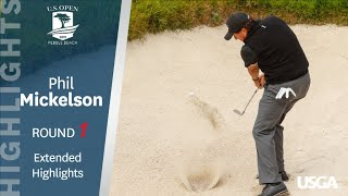 2019 U.S. Open, Round 1: Phil Mickelson Extended Highlights