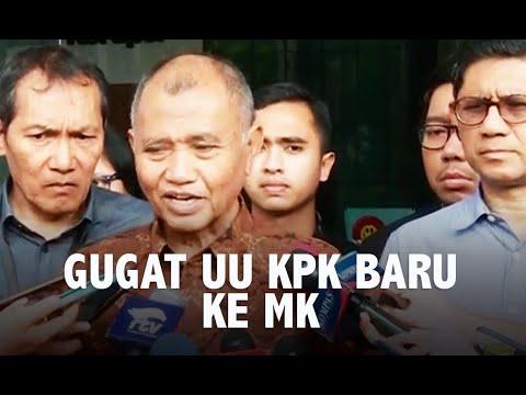 Pimpinan KPK Ajukan Gugatan UU KPK Baru ke MK