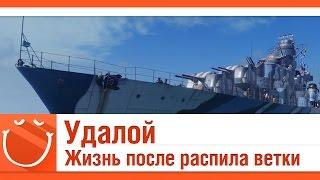 World of warships - Удалой. Жизнь после распила ветки