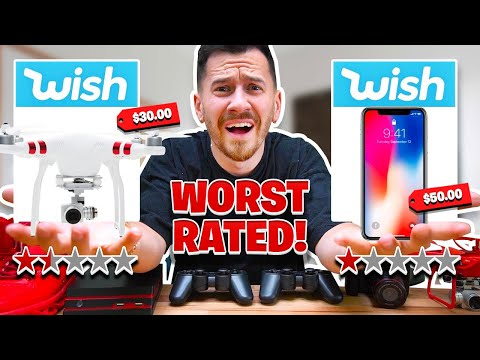 I Bought The WORST Rated Items On Wish!!