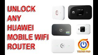 How to unlock any huawei mobile WiFi router