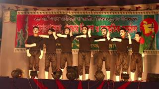 Best Mime Performance On Rajshahi College Rover Scout |26 March Independence Day| Rover Scout Act |