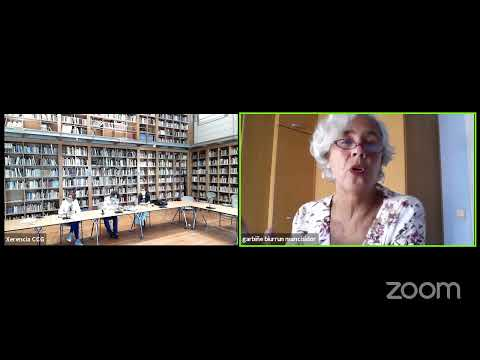 Diálogo de Garbiñe Biurrun con Celia Pereira Porto e Carme Adán