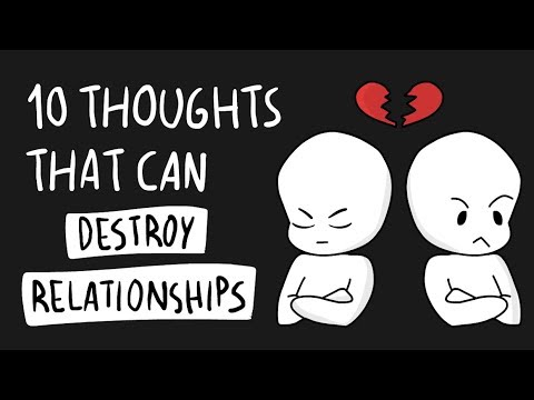 10 Thoughts that can Destroy Relationships
