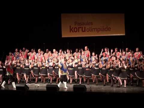 World Choir Games 2014, Riga. 10.07.2014. South Africa.