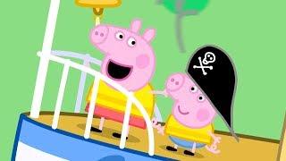 Peppa Pig in Hindi - Grandpa Pig ka Naav - हिंदी Kahaniya - Hindi Cartoons for Kids