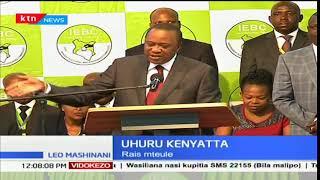 Uhuru kenyatta: Tutashirikimazungumzo lakini baadaye