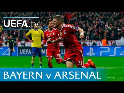 Bayern v Arsenal highlights: 3rd time in five seasons!