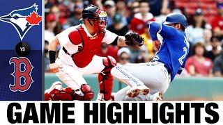 لعبة بلو جايز ضد ريد سوكس (6/12/21)   يسلط الضوء على MLB