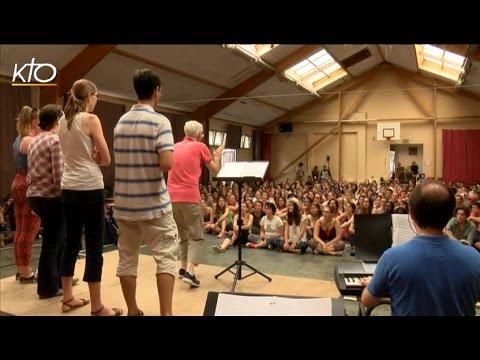 Premier rassemblement pour les 400 jeunes de Fondacio
