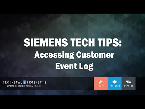 Accessing Customer Event Log