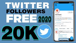 How To Increase Real Twitter Followers (2020) | Free Twitter Followers Hack