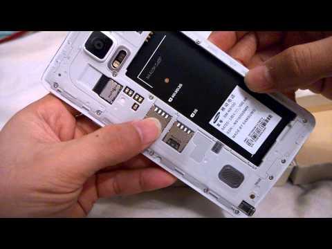 SAMSUNG NOTE 4 DUAL SIM DUOS MODEL N9100 UNBOXING