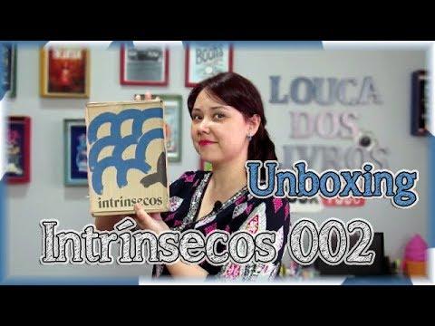 Unboxing Intrínsecos 002 - Novembro | Louca dos livros 2018