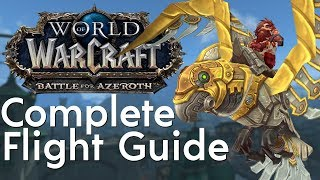 How to Unlock Flying in Battle for Azeroth - Pathfinder Part 1 & 2 Guide | Patch 8.2