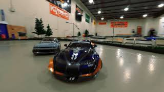 RC drift car FPV chase    CINEWHOOP