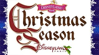 "The Music Of ""Christmas Season"" At Disneyland Paris (Original BGM/Complete Loop)"