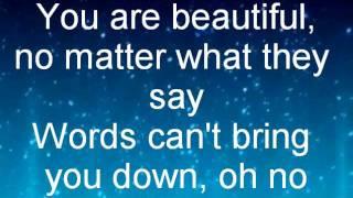 China Anne McClain Beautiful-Lyrics