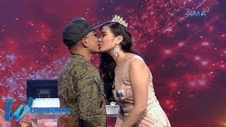 Wowowin: Sundalong beauty queen, bantay-sarado ang nobyong army