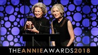 Annie Awards 2018 - The Winsor McCay Award - Wendy Tilby & Amanda Forbis