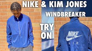 Nike & Kim Jones Windbreaker Jacket Try On| Sizing & Fit