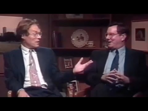 "Alexander Cockburn Debates ""Cartoon Capitalist"" Steve Forbes Jr."