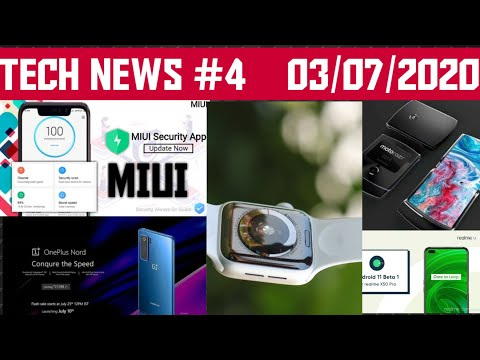 #4 TECH NEWS||Covid 19 vaccine,Apple watch,MIUI,Moto razr 5g,Android 11 ,OnePlus Nord Real Image