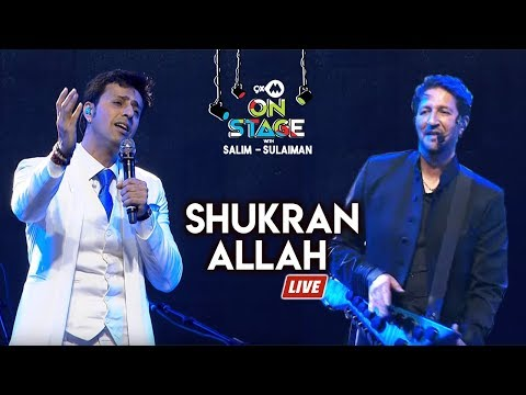 Shukran Allah - Full Song | Salim Sulaiman Live | 9XM On Stage