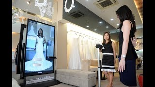 La Belle Couture's latest FX Mirror gets featured on The Straits Times.