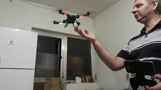 Drone dobrável sky hunter x8 com câmera fpv wifi on box