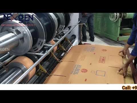 Chain Feeding One Color Printing Machine
