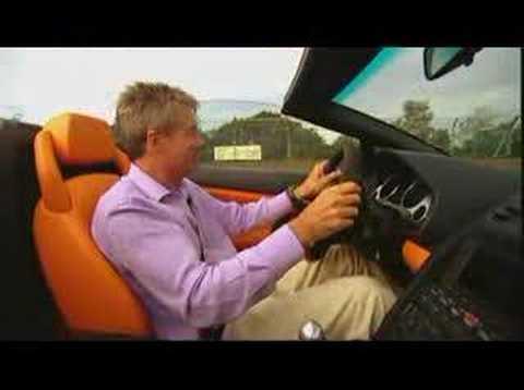 Lamborghini Gallardo Spyder – Fifth Gear