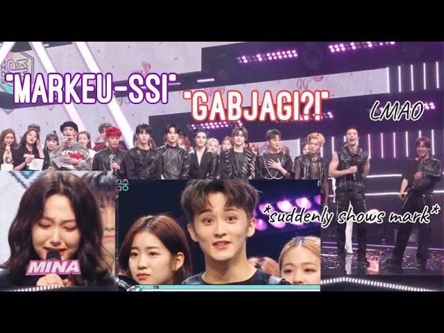 Mina's Goodbye Speech (NCT 127 Reaction)   MBC Show! Music Core 200530