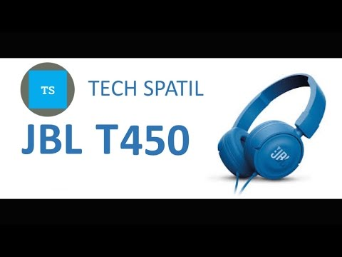 JBL T450 Unboxing And Review - YouTube