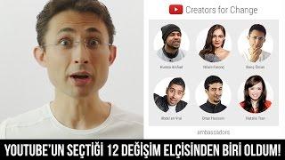 Download Youtube: YouTube'un seçtiği 12 değişim elçisinden biri oldum #CreatorsforChange