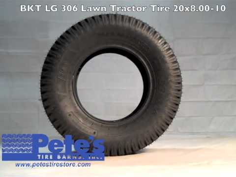 Bkt Lg 306 Lawn Tractor Tire 20 215 8 00 10 Affordable Tire